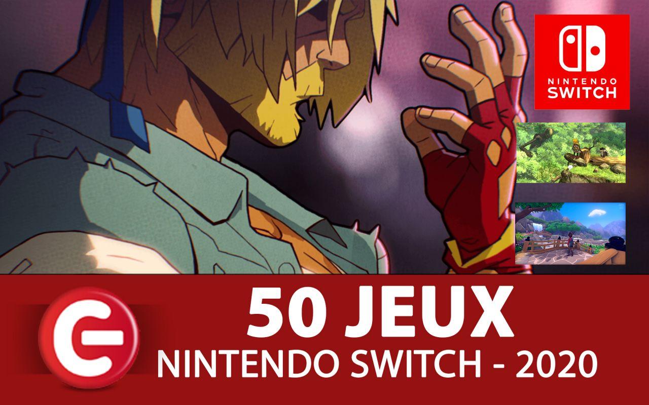Les prochains jeux Nintendo Switch de l'année 2020 ! On les passe en revue avec ce clip sympathique !