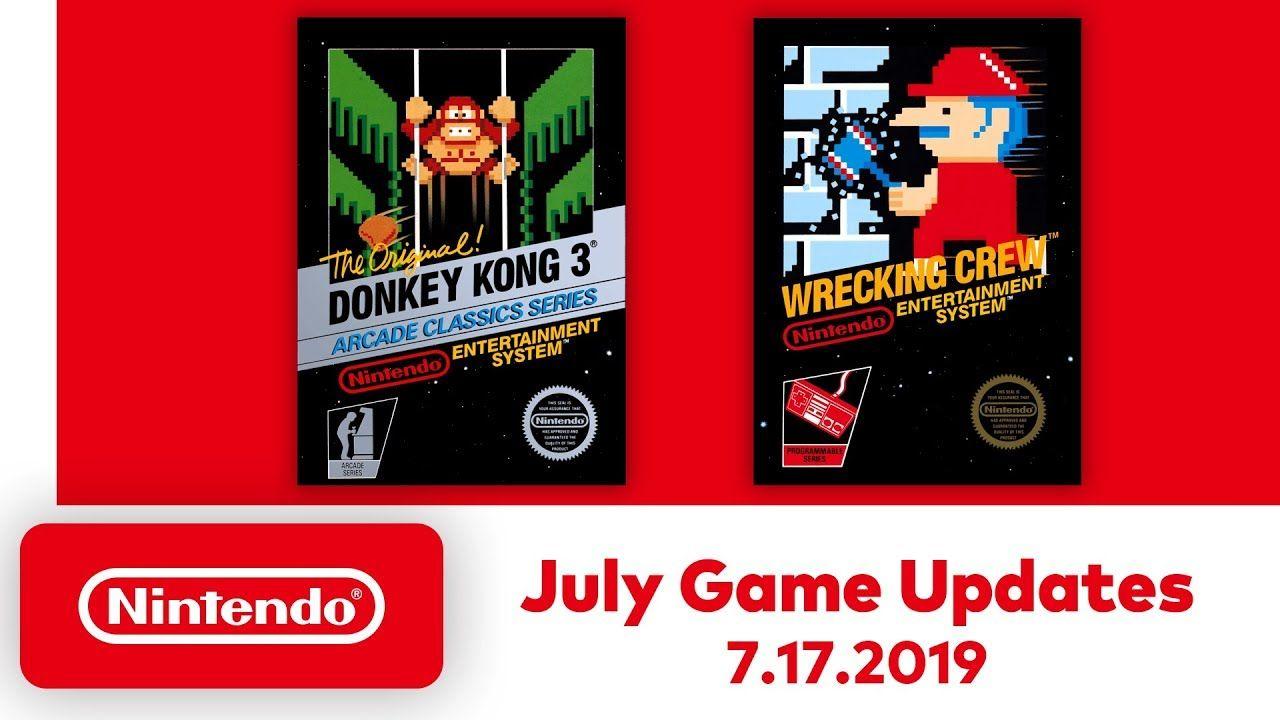 """Nintendo Switch Online : Deux nouveaux titres NES et une fonction """"Rewind"""" !"""