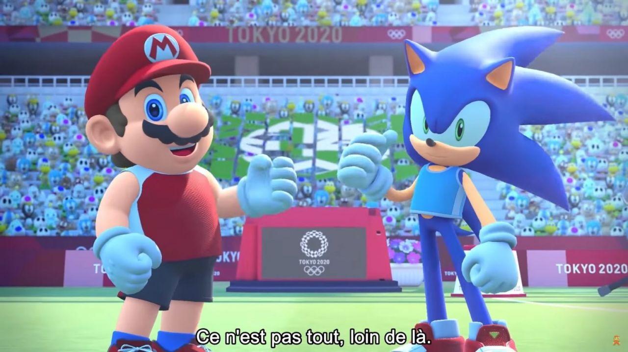 Mario et Sonic aux Jeux Olympiques 2020 : Un trailer avec une présentation de plusieurs épreuves