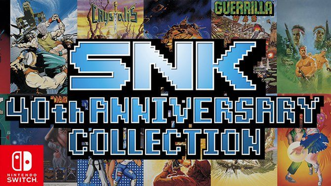 SNK 40th ANNIVERSARY COLLECTION : Le nouveau trailer Old-School !