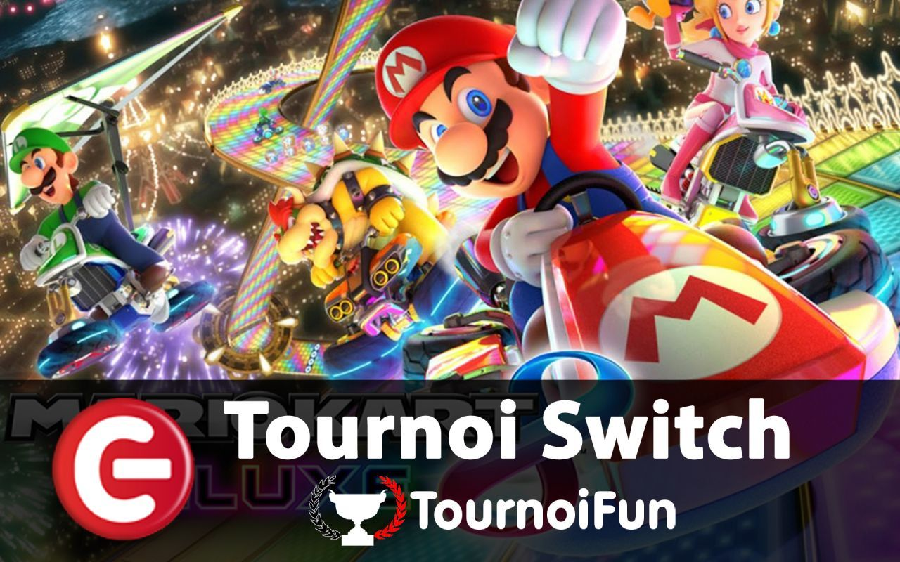 TournoiFun : Duel 1v1 - Coupe Carapace sur Mario Kart 8 Deluxe - Switch
