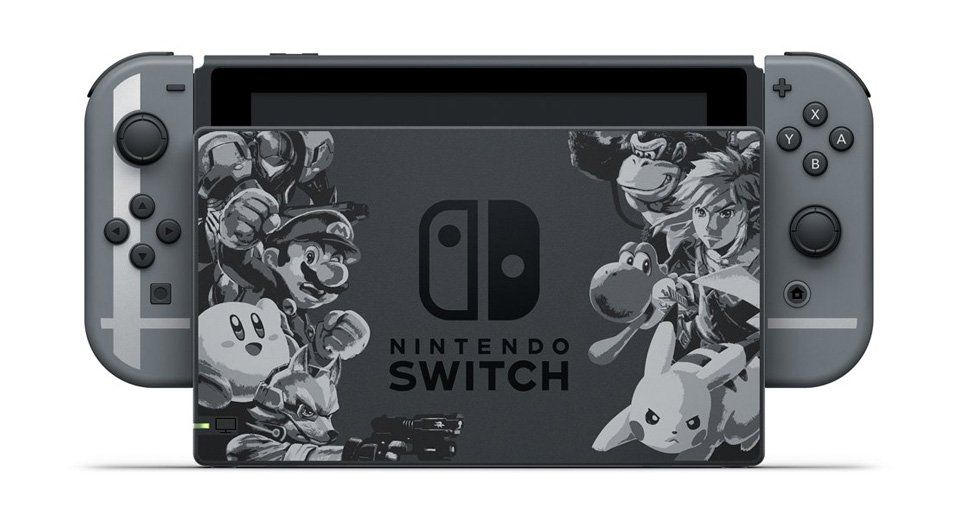 [UNBOXING] Le bundle Nintendo Switch 'Super Smash Bros Ultimate'