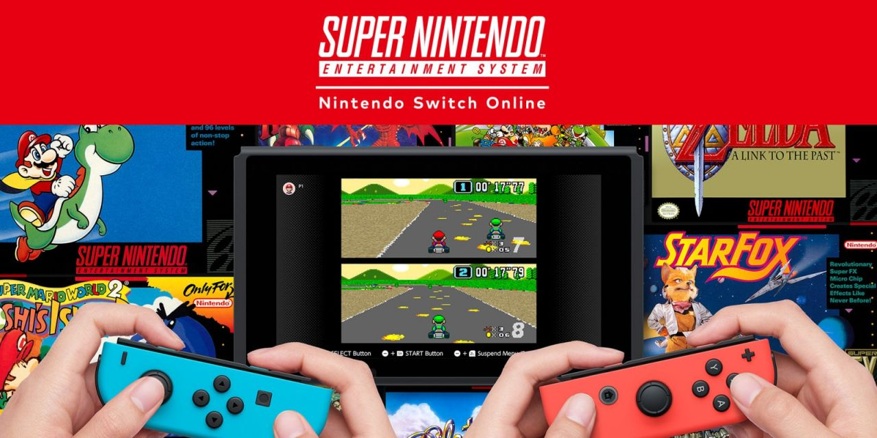 Nintendo Switch Online : Le catalogue de jeux 'Super Nintendo' arrive !
