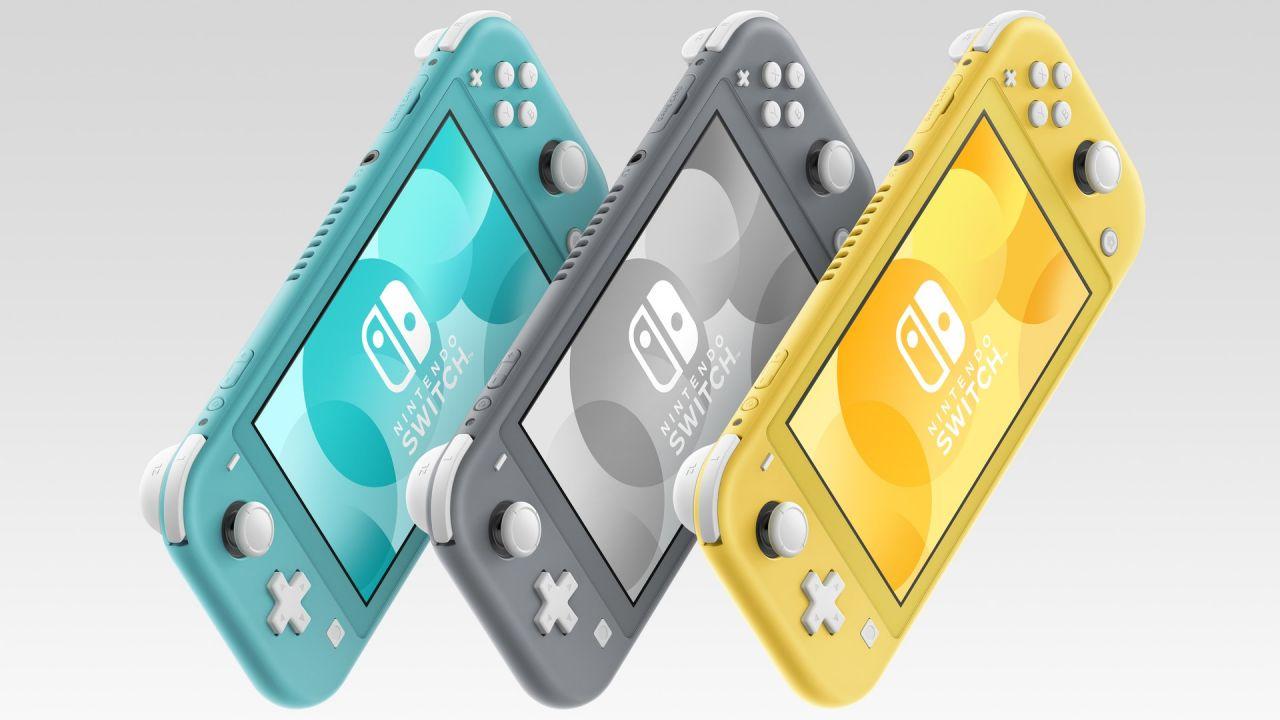 La Nintendo Switch Lite se dévoile!