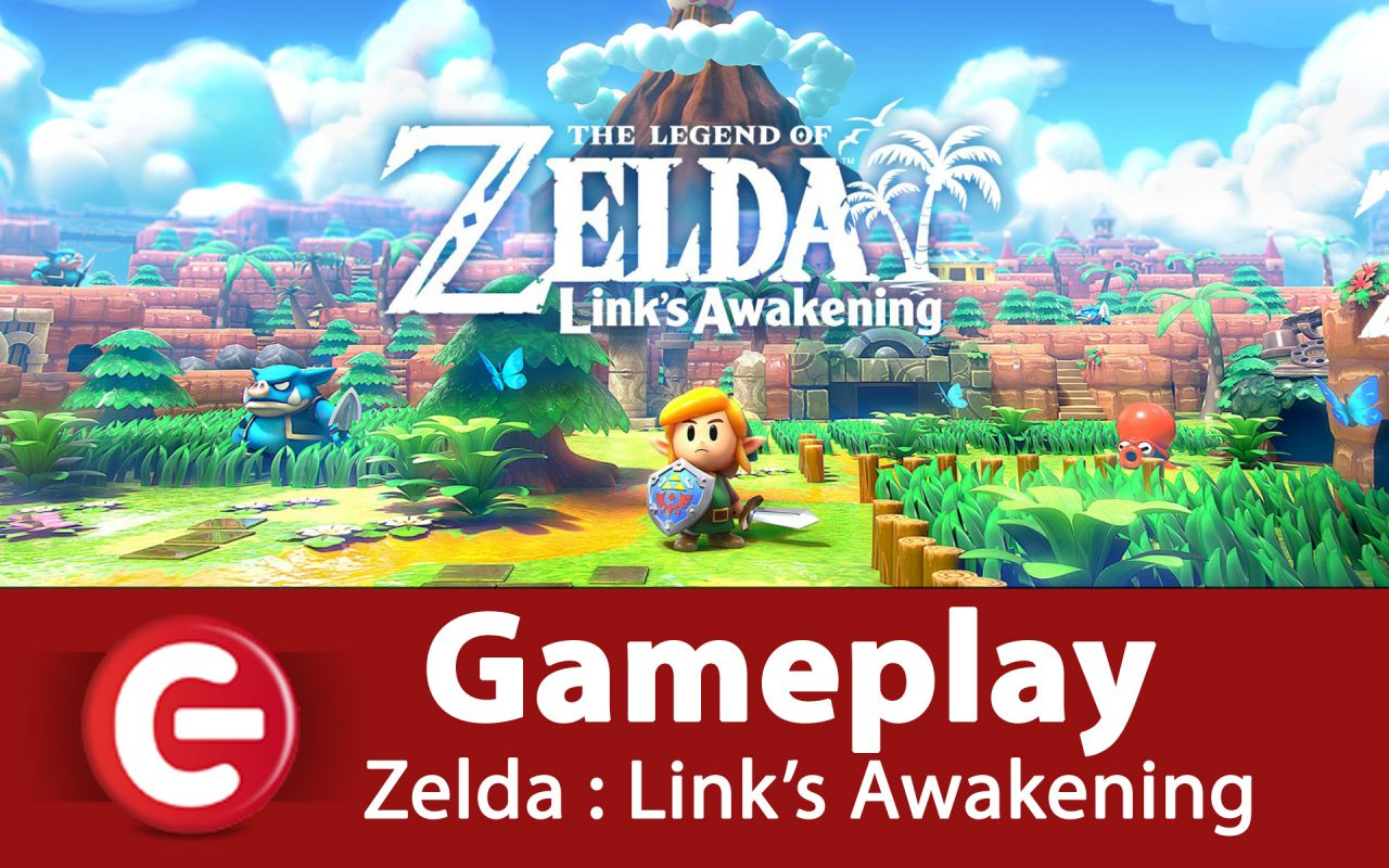 The Legend of Zelda : Link's Awakening : On a joué au REMAKE !!!! Impressions, et vidéo de gameplay exclusive !