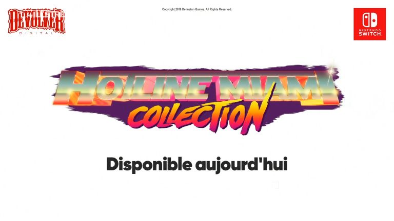 Hotline Miami : La compilation débarque sur Switch !