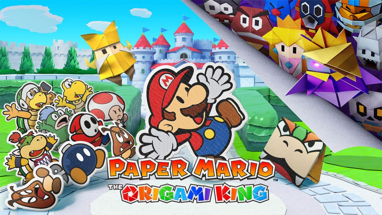 Paper Mario : The Origami King sort sur Nintendo Switch