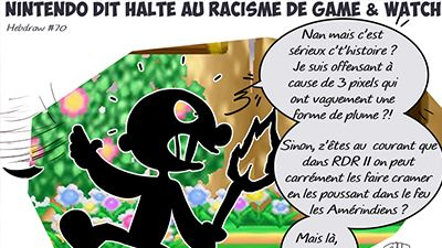 Hebdraw #70 : Game and Watch perd un attribut