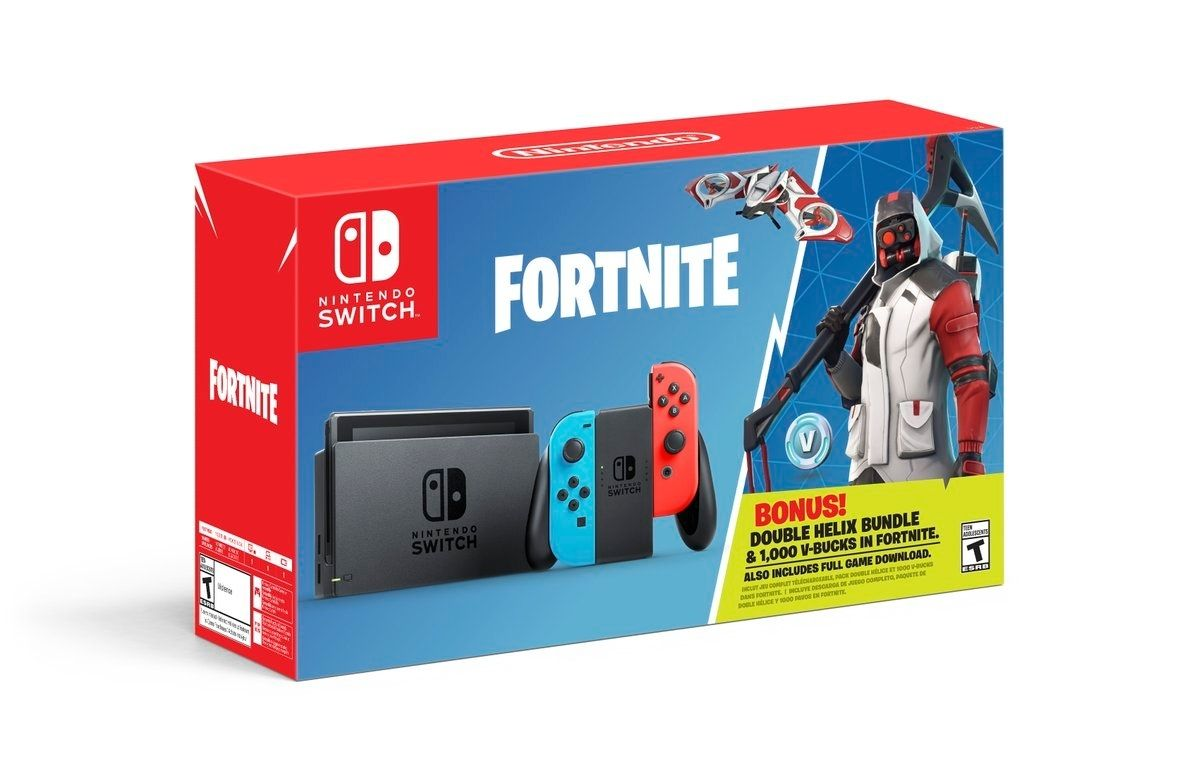 Nintendo : Un bundle 'Switch + Fortnite' prévu en Octobre !