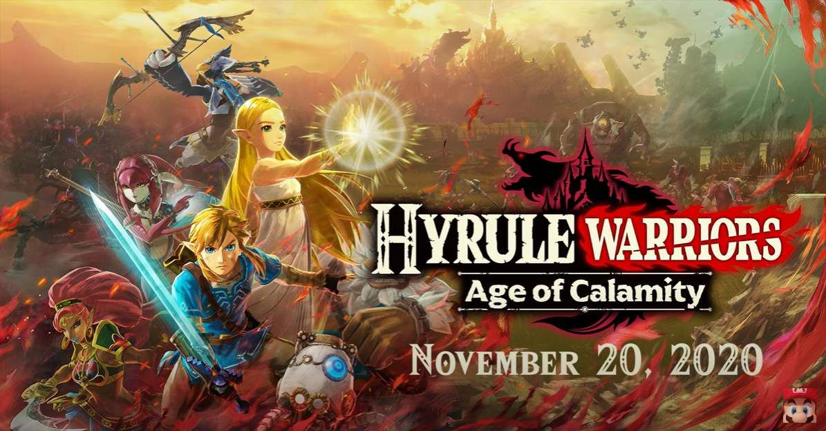 Hyrule Warriors Age of Calamity : Le trailer d'annonce