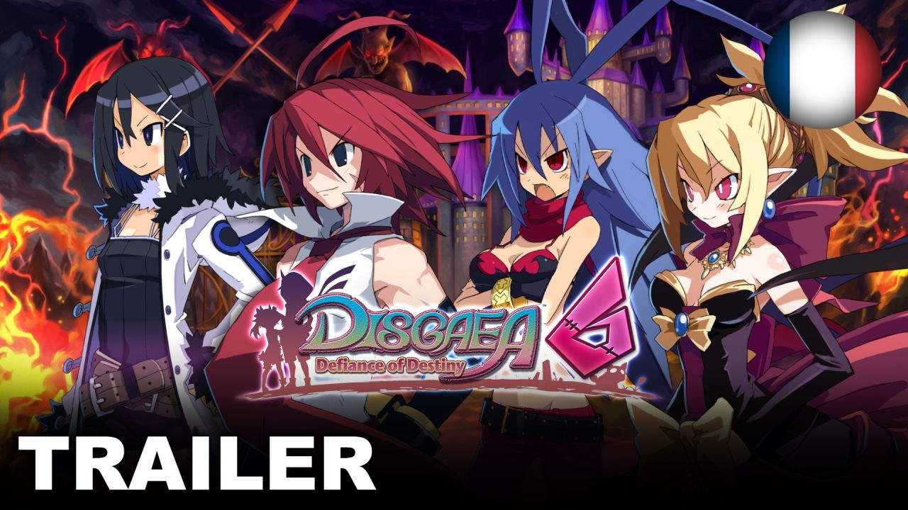 Disgaea 6: Defiance of Destiny - Un trailer et une date de sortie officielle !