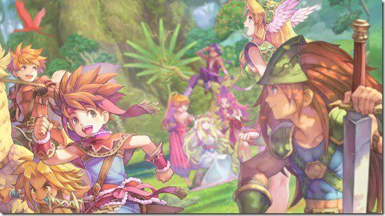 Seiken Densetsu Collection : Images de la jaquette 'Switch', et désormais disponible !