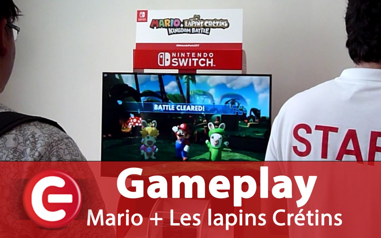 Mario + The Lapins Crétins Kingdom Battle : Du gameplay exclusif, et des informations...