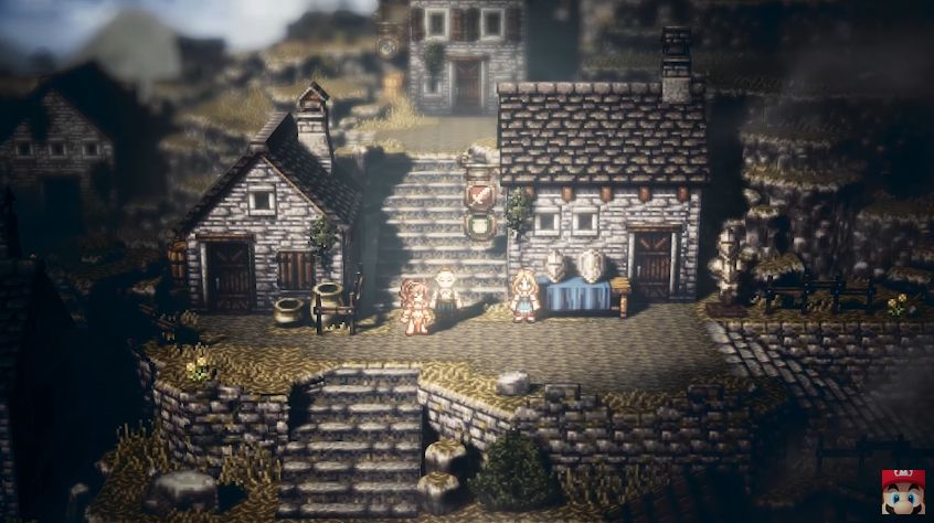 Project Octopath Traveler : Enfin du gameplay