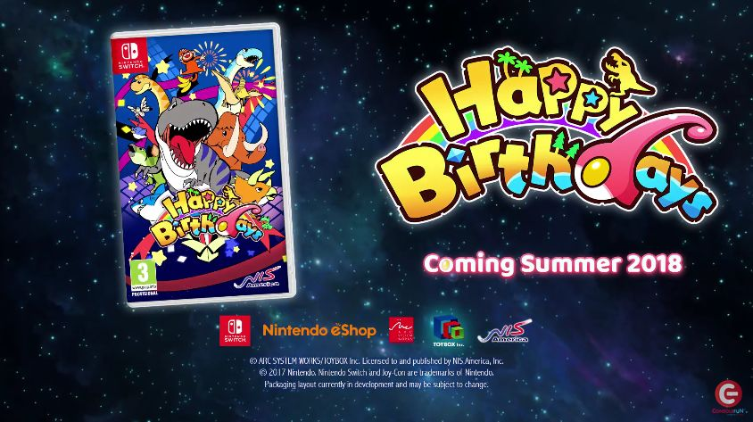 Happy Birthdays : La bande-annonce de la version Switch