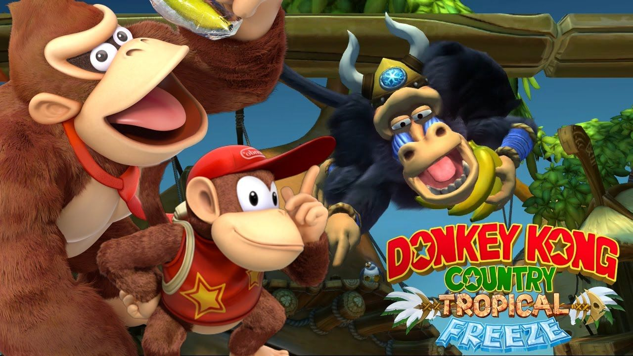 Donkey Kong Country Tropical Freeze : Plus de 8 minutes de gameplay