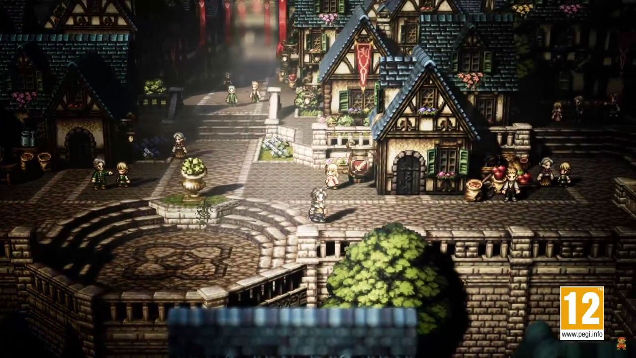 Octopath Traveler : Une seconde bande-annonce 'overview'