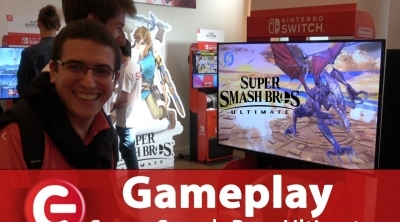 Super Smash Bros Ultimate : Ridley vs Link, notre séquence de gameplay exclusive !