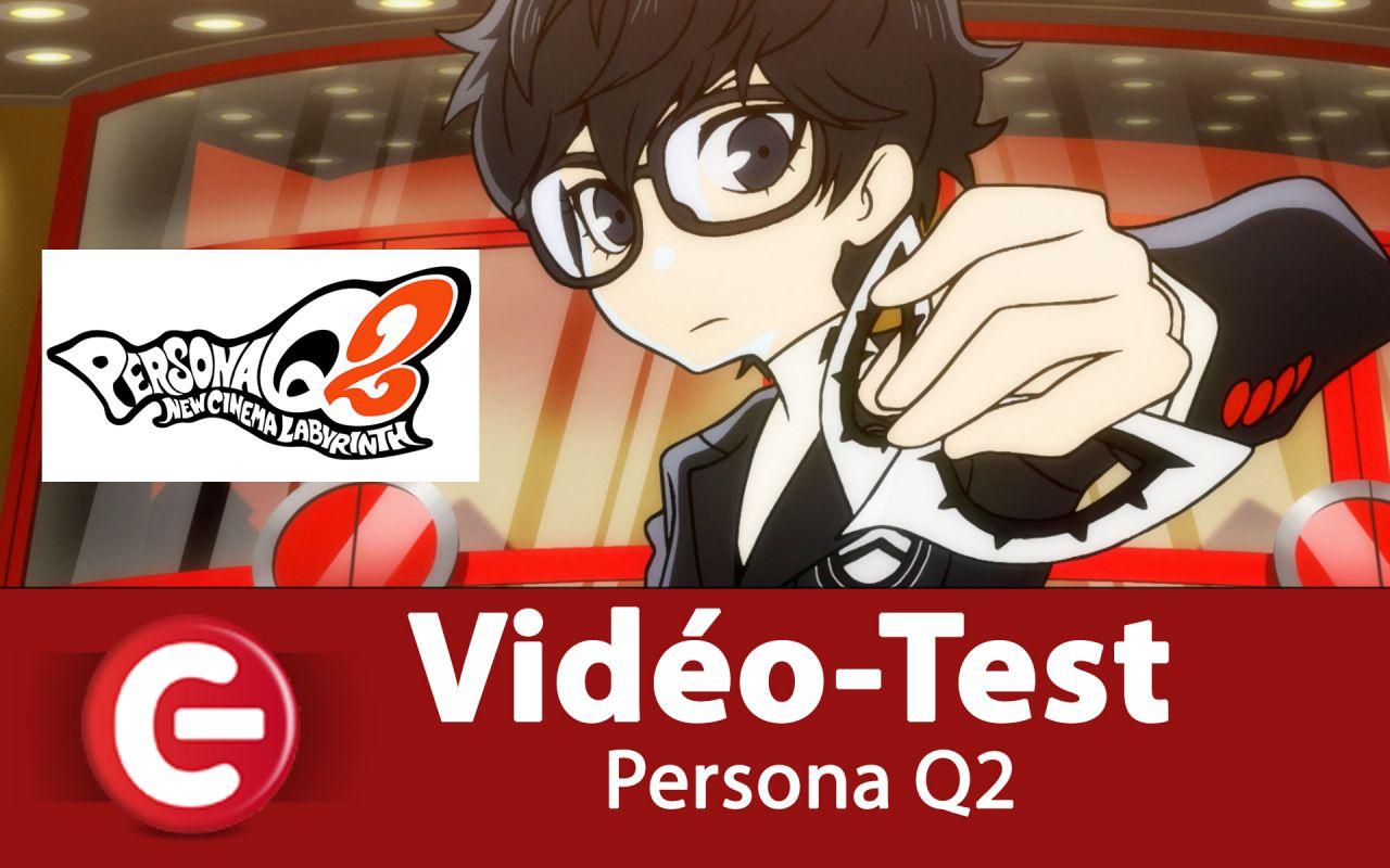 [Vidéo Test] Persona Q2, vers une retraite bien méritée de la 3DS !