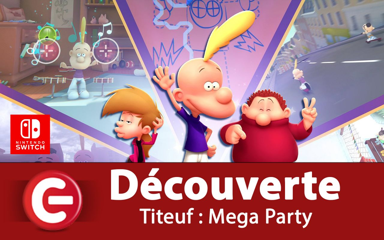 [VIDEO TEST] Titeuf : Mega Party, Les bêtises plairont-elles aux enfants !?