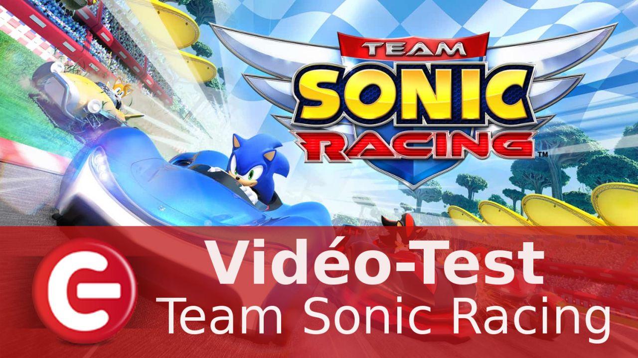 [Vidéo-Test] Team Sonic Racing : Un concurrent sérieux à Mario Kart ?