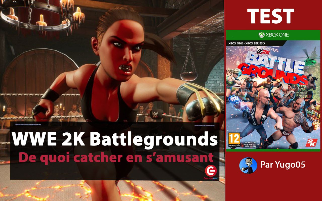 [VIDEO TEST] WWE 2K Battlegrounds sur PS4, Xbox One et Switch !