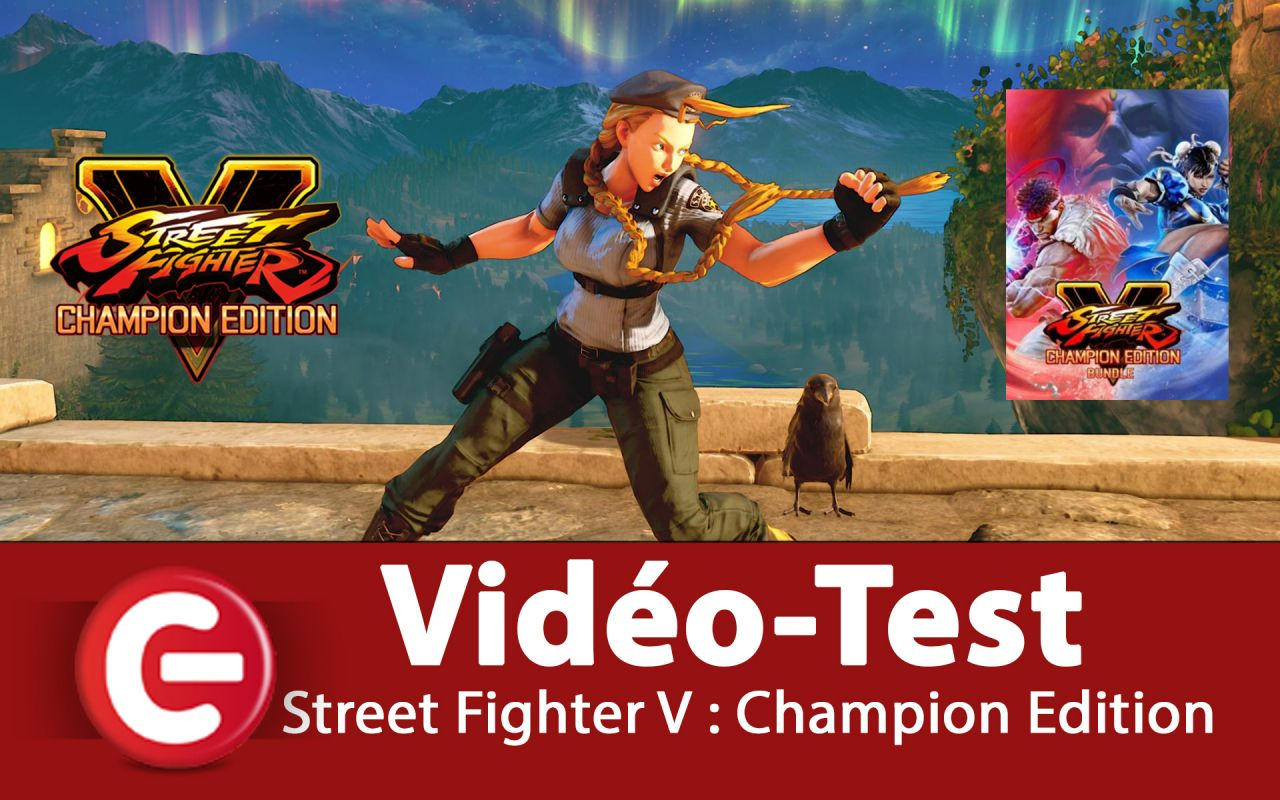 [VIDEO TEST] Street Fighter V : Champion Edition - Un très bon jeu de combat sur PS4