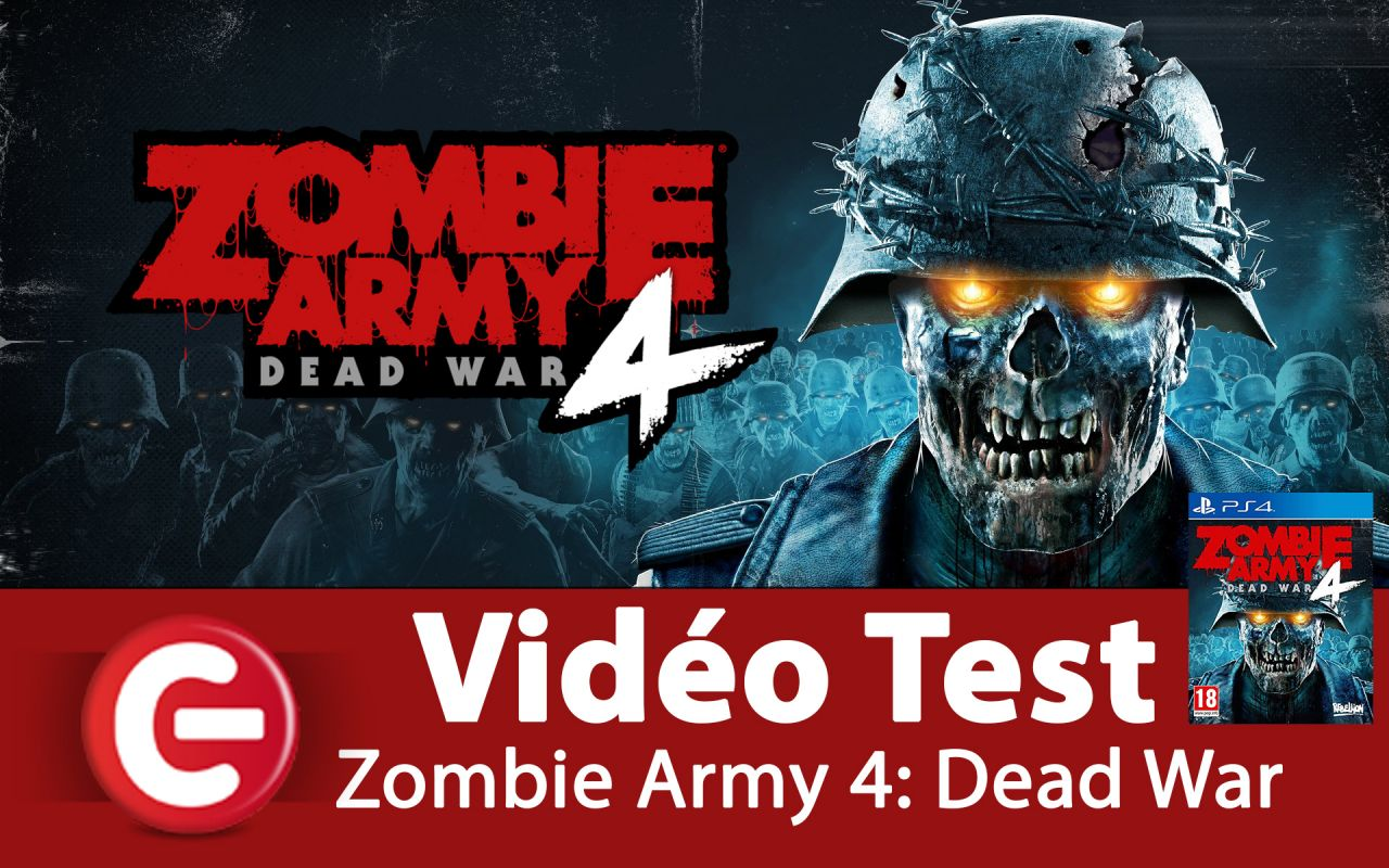 [VIDEO TEST] Zombie Army 4: Dead War, Un TPS dans l'air du temps !