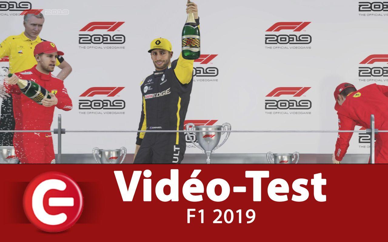 [Vidéo Test] F1 2019, le meilleur jeu de simulation de F1... et F2 !?