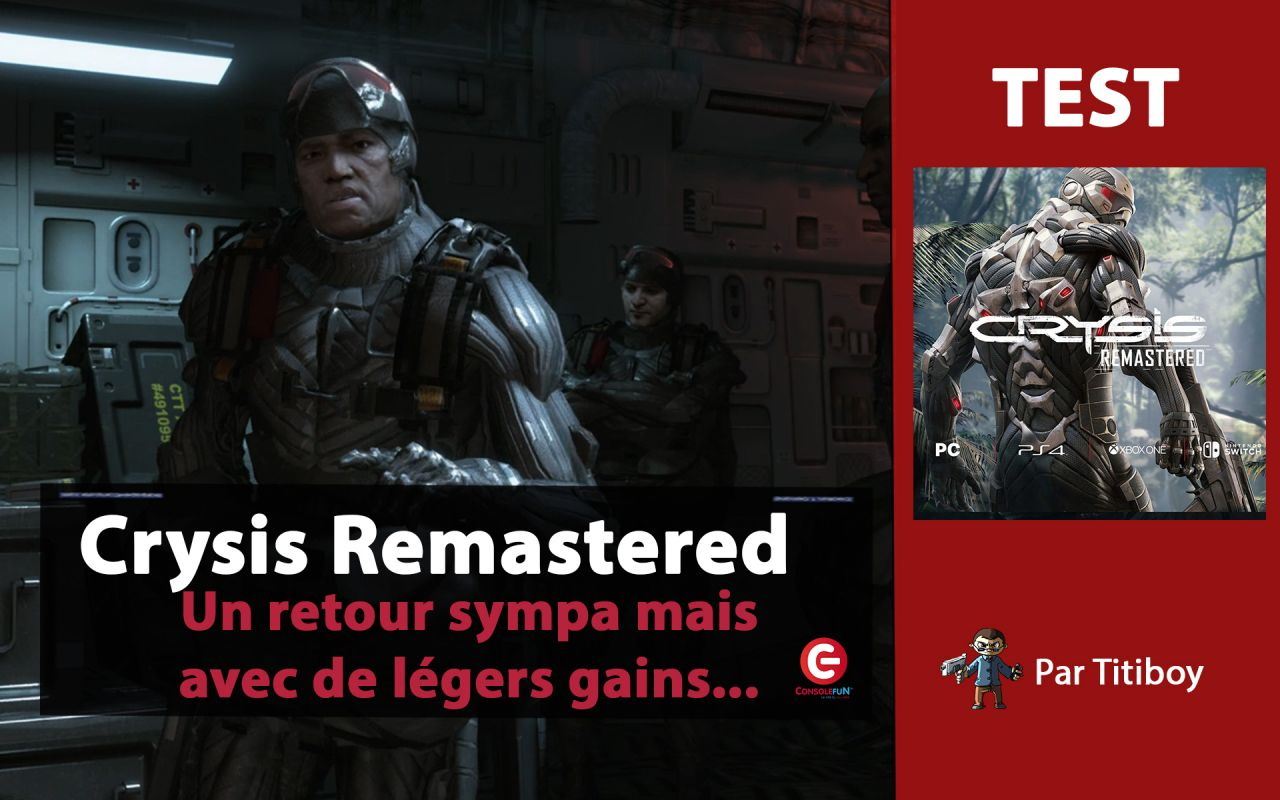 [VIDEO TEST] Crysis Remastered sur Xbox One X !!!!