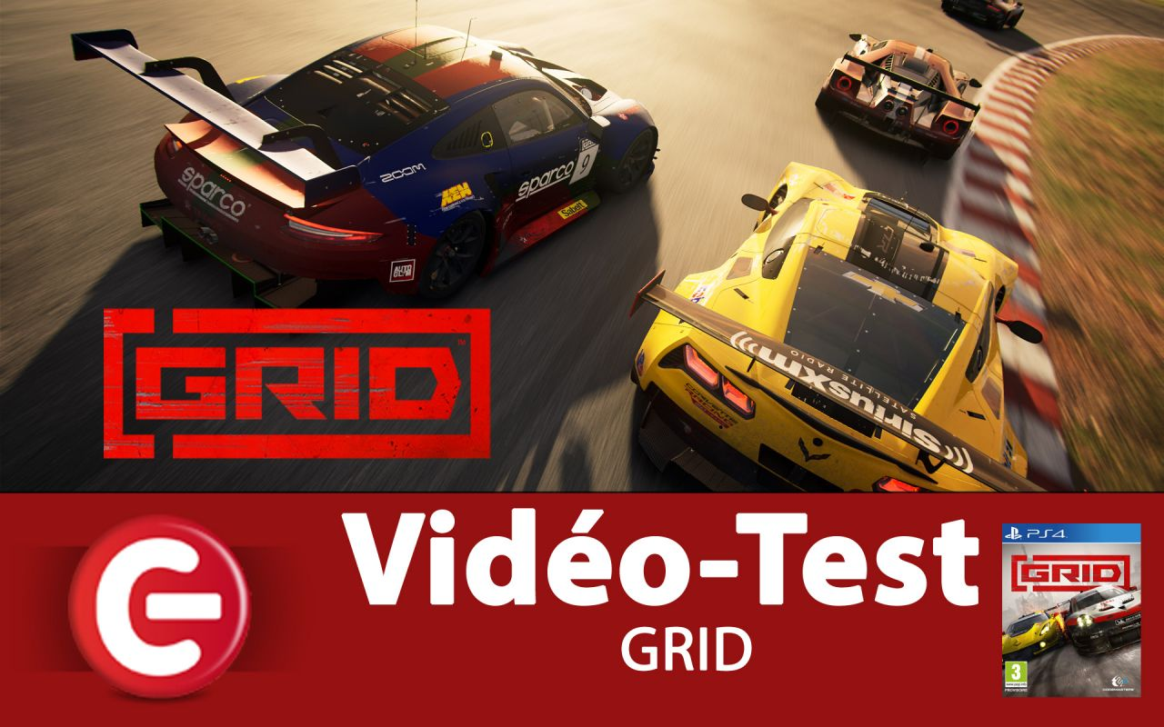 [VIDEO TEST] GRID - PS4 et Xbox One, un jeu de course qui se démarque ?