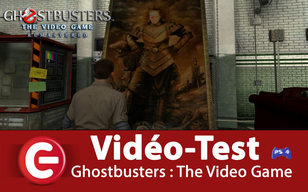 [VIDEO TEST] Ghostbusters : The Video Game Remastered, le meilleur des SOS Fantôme !?