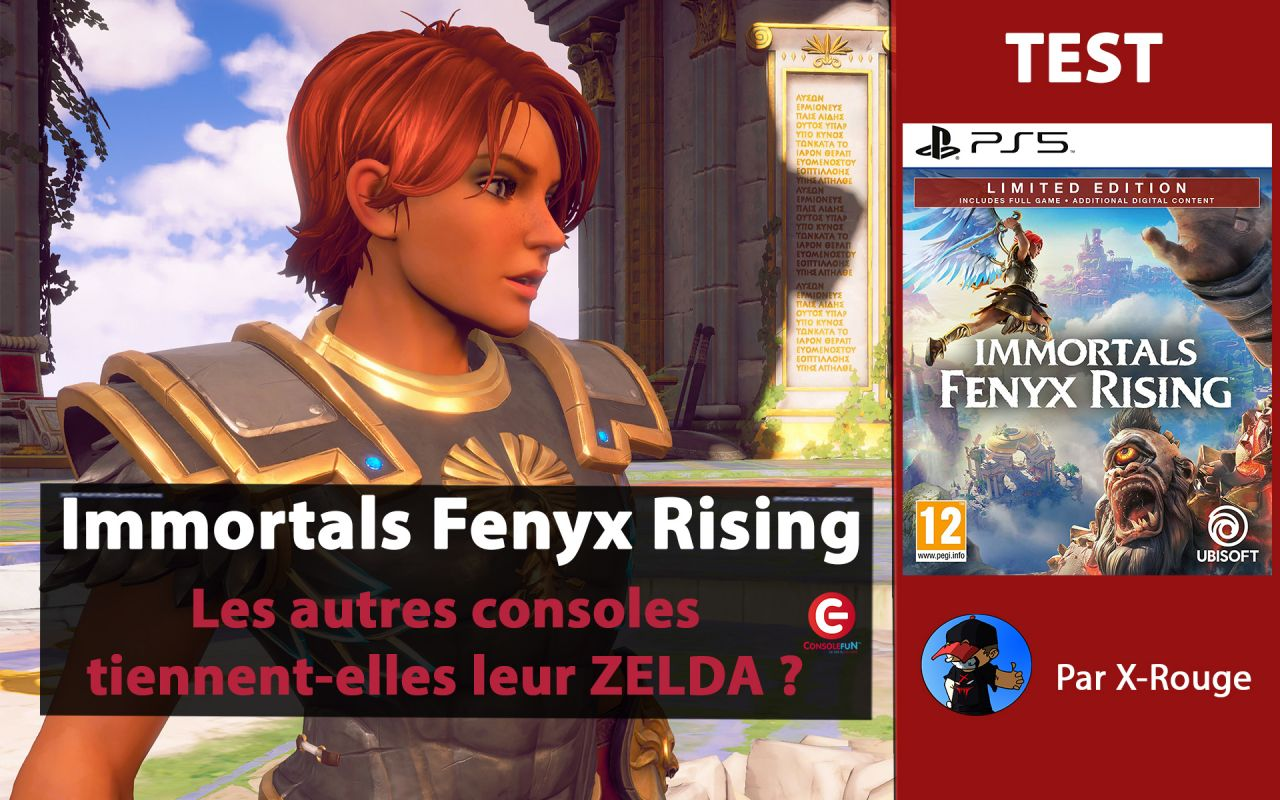 [TEST / Gameplay] Immortals Fenyx Rising sur PS5