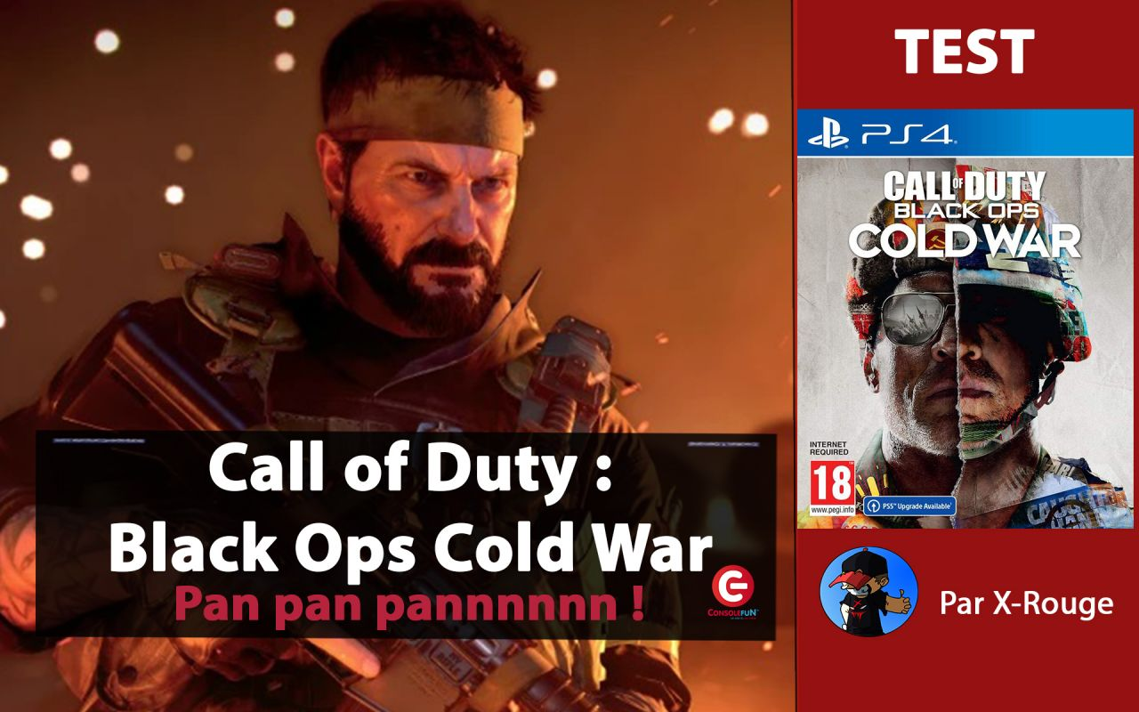 [TEST / Gameplay] Call of Duty : Black Ops Cold War avec X-Rouge !