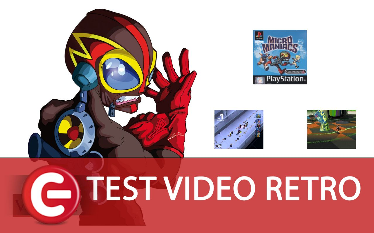 [Video-Test Rétro] : Micro Maniacs sur Playstation