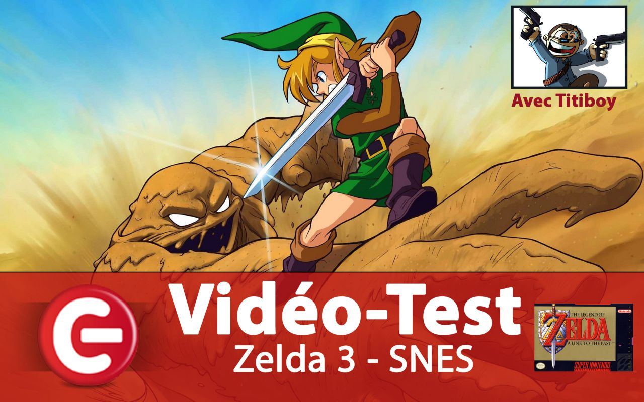 Vidéo Test Rétro : The Legend of Zelda - A Link to the Past - SNES