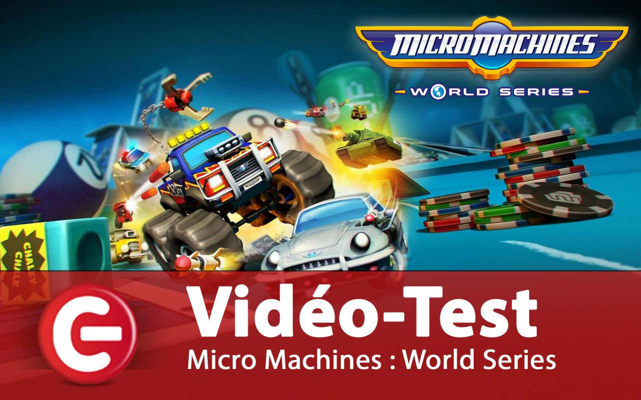 Vidéo-Test : Micro Machines World Series - PS4 / One / PC