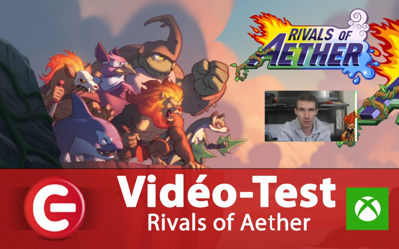 Vidéo Test : Rivals of Aether, un Smash Bros 2D s'installe sur One !