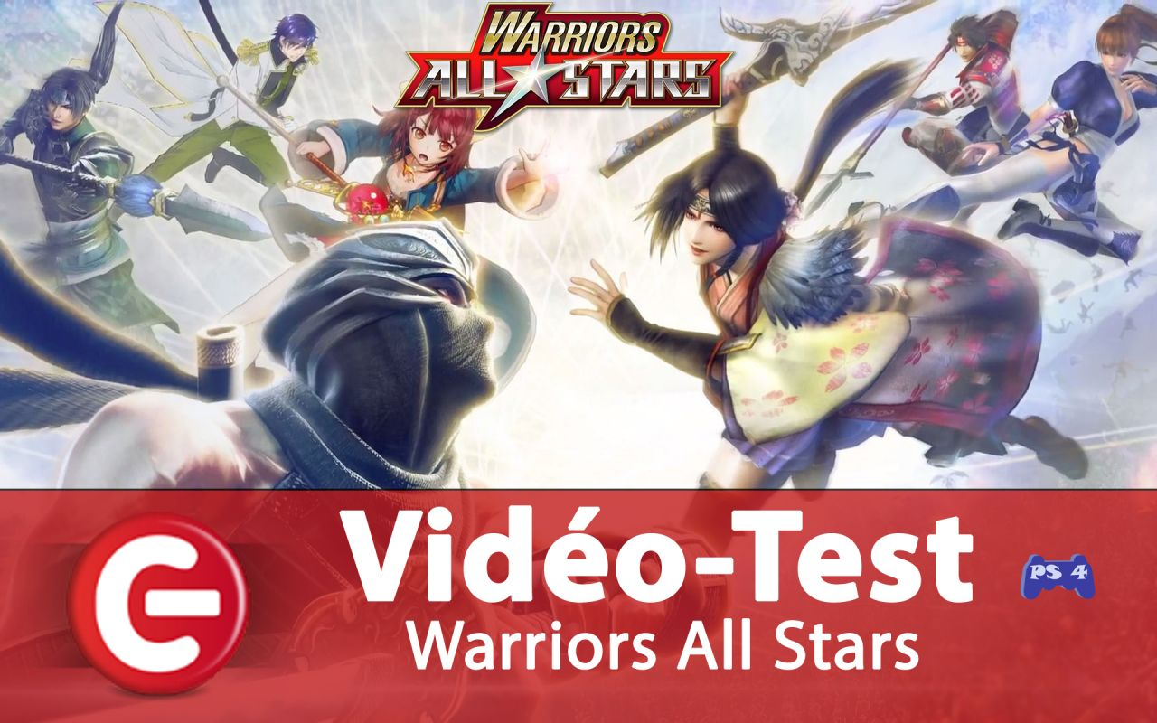 Vidéo Test : Warriors All-Stars, le crossover jouissif de KOEI TECMO ?