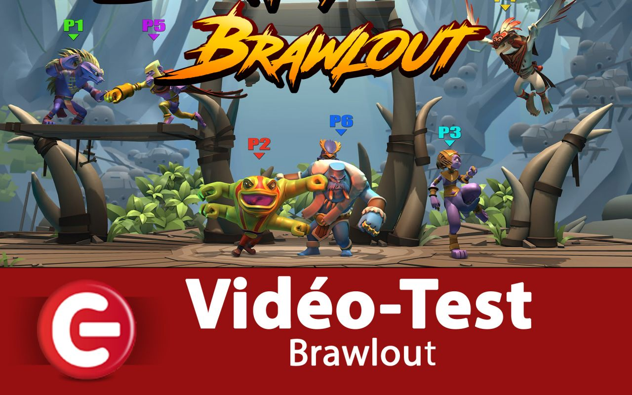 Vidéo Test : Brawlout, Un concurrent de Super Smash Bros arrive...