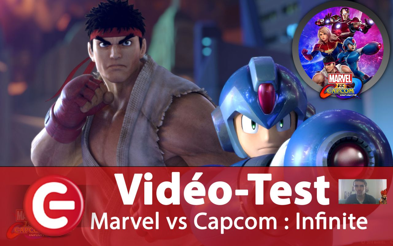 [Vidéo-Test] Marvel vs Capcom Infinite, Baston spéctacle ?