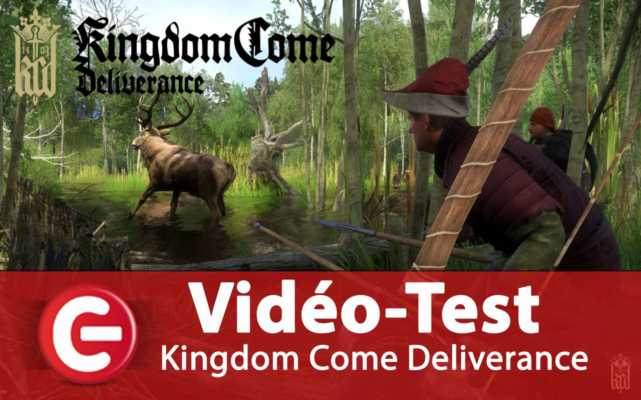 [Vidéo Test] Kingdom Come Deliverance, vers un Game of the Year !?