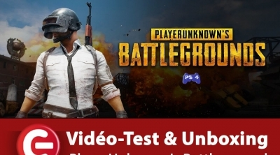 [Vidéo Test + Unboxing] PlayerUnknown's Battlegrounds (PUBG) - PS4