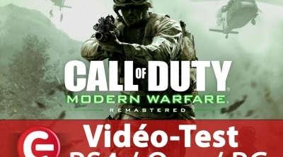 [Video Test] Call of Duty Modern Warfare Remastered