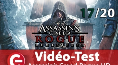 [Vidéo Test] Assassin's Creed : Rogue Remastered, un retour 4K réussi !