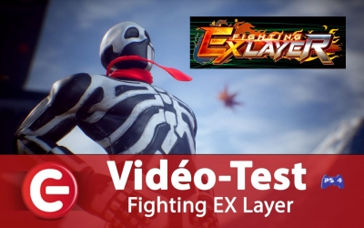 Test vidéo [Vidéo Test] Fighting EX Layer, une suite digne de Street Fighter Ex ?