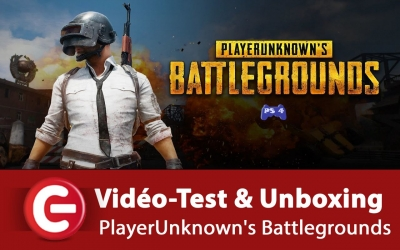 Test vidéo [Vidéo Test + Unboxing] PlayerUnknown's Battlegrounds (PUBG) - PS4