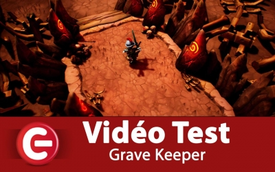 Test vidéo [Vidéo Test] Grave Keeper, Un Hack'n Slash sympathique !