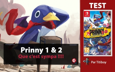 [VIDEO TEST] Prinny 1 et 2: Exploded And Reloaded, On aime bien.... MEC !