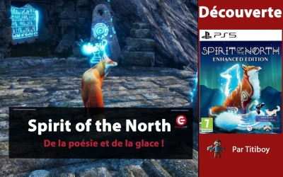Test vidéo [VIDEO TEST] Spirit of the North, De la poésie et de la glace !